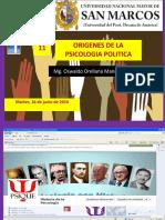 Origen Ps Politica y Ps Social