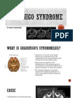 gradenigo syndrome