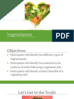 vegetarianism presentation