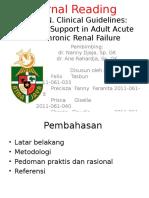 Panduan Klinis Nutrisi Enteral Dan Parenteral Pada Pasien Gagal Ginjal Akut Dan Kronis Journal Reading Dr Nanny Djaja Sp GK1