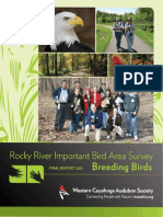Rocky River IBA Report Final 2012