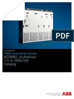 ABB ACS880 Multidrives Catalog 3AUA0000115037 RevE