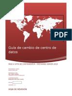 Profuturo - Guía de Cambio de Centro de Datos (Pase a Contingencia) Exchange Server 2013 v2.0