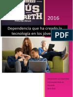 Dependencia Que Ha Creado La Tecnología en Los Jóvenes