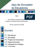 Protótipo de Simulador de Elevadores