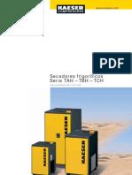 Secadores Frigorificos Kaeser TAH-TBH-TCH