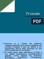Aula VII - Pronomes