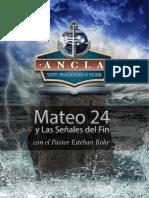 Mateo 24 y Senales Del Fin