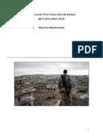 La Guerra en Siria Cinco Años de Análisis