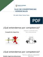 Desarrollo de Competencias Gerenciales - Dr. Julio César Cerna