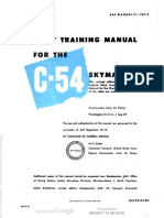 Pilot Training Manual for the C54 Skymaster Part 1