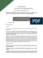 4 - Comunicado de Prensa Sentencia C -703 - 10 - Declara Exequibles Medidas Preventivas