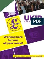 UKIP Local Manifesto 2016