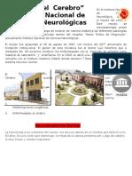 En El Instituto Nacional de Ciencias Neurológica