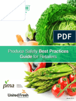 Produce Safety Best Practices Guide for Retailers