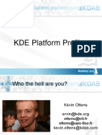 KDE Platform Profiles - Low Fat Software Platform You Can Pick and Choose From With Sugar Coating on Top-Kevin Ottens
