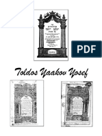 Toldos Yaakov Yosef by Rav Yaakov Yosef of Polnnoye Sample2