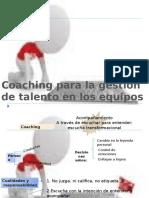 Coaching de la gestion del talento en los equipos