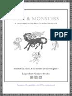 Men & Monsters