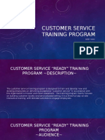 customer service training program