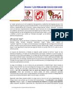 Jergas y Peruanismos Comunes