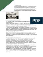 Historia Del Teatro en Guatemala