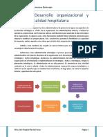 Tema 3. Desarrollo Organizacional y Cultura de Calidad Hospitalaria(1)