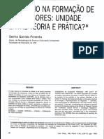 Livro - O Estágio na Formação de Professores - Entre Teoria e Prática - Selma Garrido Pimenta.pdf