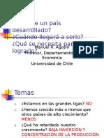 Chile y Desarrollo