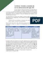 Retos de La Democracía - Andres Avila