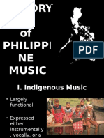 History of Philippine Music (1)