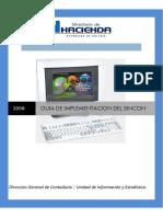 Guía Para La Implantación Del SINCON 2009
