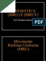 MRU e MUV