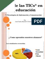 Tecnologías Tecnologías Uso TICs  en educación