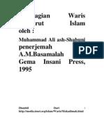 Pembagian Waris Menurut Islam