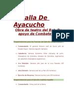 OBRA Batalla de Ayacucho