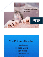 The Future of Media Mass Media New Media and Television