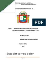 Universidad Nacional Del Altiplano Informe