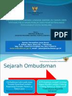 Implementasi UU Yanlik Dan Manfaatnya Untuk Kota Bandung_20 April 2016