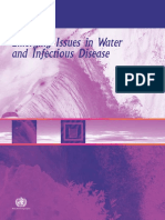 Emerging Issues in Water and Infectious Disease-WHO 2003