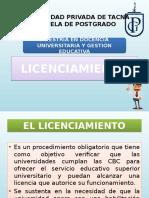 Licenciamiento (Completo)