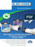 WeldOn SolventWelding Guide Spanish 2013
