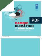 Cambio climático en el territorio nacional