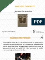 20163-06 Ajuste de Mezcla de Concreto