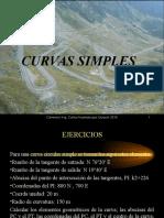7 Caminos i Ejercicios de Curvas Simples