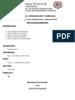 Unidad 4. Organizacion y Liderazgo, Estilos de Liderazgo