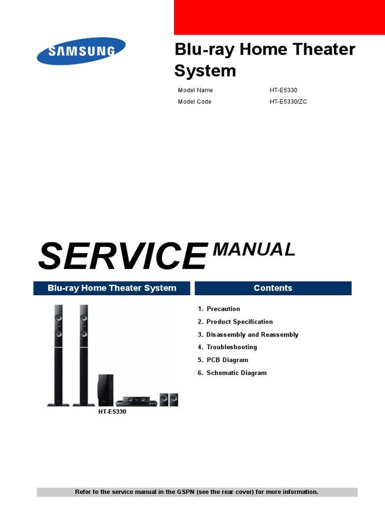 samsung ht e5330 pdf rh scribd com