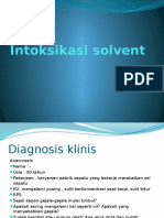 Intoksikasi Solvent