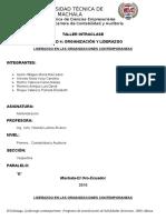 Unidad 4. Organizacion y Liderazgo, Liderazgo en Las Organizaciones Contemporaneas (1)