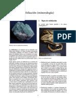 Exfoliación (mineralogía)